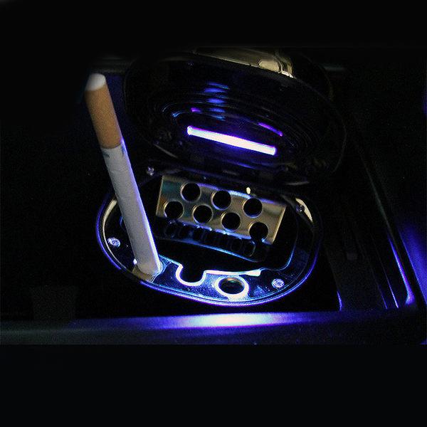 推拉式菸灰缸點菸器 LED燈 USB充電 分離設計易清理