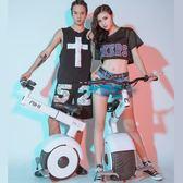 電動單輪車 機車 平衡車新品2018帶座椅獨輪電動平衡車 手扶桿單輪摩托全智慧思維體感車 Igo