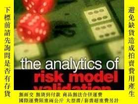 二手書博民逛書店The罕見Analytics Of Risk Model Validation (quantitative Fin
