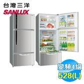 台灣三洋 SANLUX 528公升 直流變頻 三門冰箱 SR-B528CV