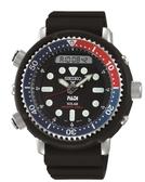 【SEIKO】PROSPEX 阿諾電影復刻版PADI 聯名太陽能雙顯潛水錶