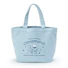 小禮堂 大耳狗 帆布保冷便當袋 保冷提袋 野餐袋 手提袋 (藍 廚師) 4550337-74778