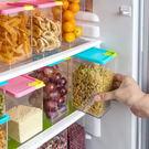 ✭米菈生活館✭【G19】廚房可疊加雜糧密封罐 有蓋 保鮮 食品 收納 儲物 透明 防蟲 五穀 1070ml
