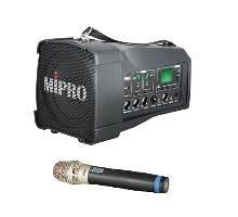 MIPRO MA-100SB/MA100SB超迷你肩掛式無線喊話器 擴音機/教學機 內建USB 附一支無線麥克風ACT-32H