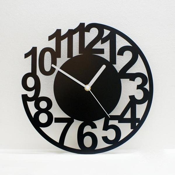 掛鐘客廳時尚創意個性時鐘大掛錶靜音現代簡約藝術數字鐘錶wy 快速出貨