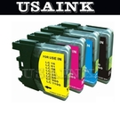 USAINK~Brother LC-67/LC67/LC61/LC38/LC39 相容墨水匣 5黑15彩套餐  HL-4040CN/HL-4070CDW/MFC-290C