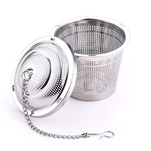 PUSH!廚房餐具用品304不銹鋼滷料煲湯茶葉過濾器調味滷包器小號D79