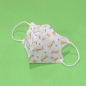 【雨晴牌-超立體3D口罩】(A級高效能)(細耳帶) @兒幼童-3款@無痛耳帶舒適透氣 防PM2.5附檢驗報告