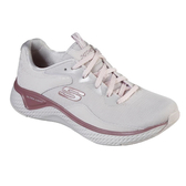 SKECHERS系列-SOLAR FUSE女款淺粉色慢跑鞋-NO.13327LTPK