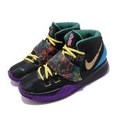 【六折特賣】Nike 籃球鞋 Kyrie 6 CNY GS 黑 藍 女鞋 大童鞋 運動鞋 【ACS】 CQ5820-001
