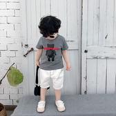 男童短袖T恤洋氣潮寶寶網紅半袖上衣兒童夏季打底衫小童夏裝2019