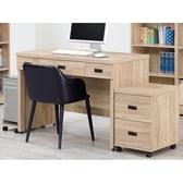 書桌 電腦桌 CV-629-5 法蘭克4尺三抽書桌 (不含其它產品)【大眾家居舘】