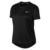 Nike AS W Miler Top SS 女 黑 慢跑 透氣 吸濕 排汗 短袖 AJ8122-010