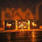 竹制香薰燈蠟燭香薰爐機精油燈香氛燈ins 助睡眠浪漫臥室浪漫現代