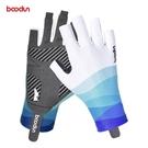 BOODUN/博頓20年春夏新款戶外釣魚手套 漏指硅膠防滑路亞手套 快速出貨