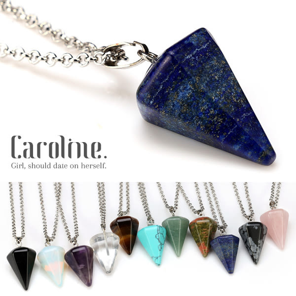 《Caroline》★時尚魅力天然寶石項鍊69165