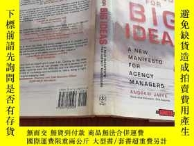 二手書博民逛書店CASTING罕見FOR BIG IDEASY23042 And