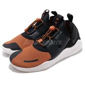 Nike 慢跑鞋 Free RN CMTR 2018 PRM 黑 橘 抽繩鞋帶 鬆緊帶設計 運動鞋 男鞋【PUMP306】 AJ8308-002