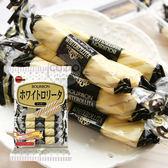 日本 BOURBON 北日本 白巧克力餅乾捲 媲美 白色戀人 (15枚入) 105g 白巧克力餅乾棒