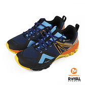 Merrell Mqm Flex Gtx 藍橘色 網布 健行運動鞋 男款 NO.B0799【新竹皇家 ML36739】