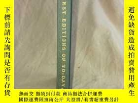 二手書博民逛書店書話:First罕見Editions of To-Day and How to Tell Them 如何鑒定初版本