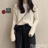 針織外套 毛衣寬鬆女裝針織衫打底衫秋冬季新款2021爆款內搭上衣服外套外穿 嬡孕哺