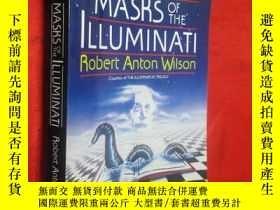 二手書博民逛書店Masks罕見of the Illuminati 【詳見圖】Y5