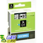 [美國直購] DYMO 53710 Standard D1 Self-Adhesive Polyester Tape for Label Makers 1inch x 23 標籤紙