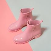 雨鞋女士防滑雨靴子中短筒時尚款外穿女式廚房膠鞋套鞋低幫防水鞋 童趣屋