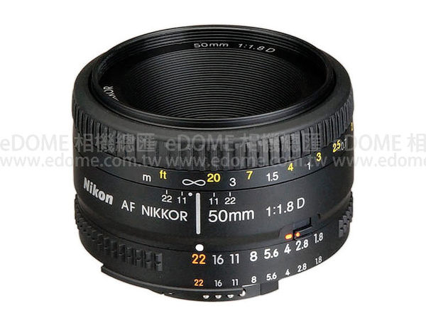 NIKON AF 50mm F1.8 D 大光圈人像鏡 (3期0利率 免運 國祥/榮泰貿易公司貨) 50mm F1.8D