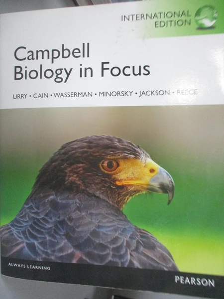 【書寶二手書T1/大學理工醫_NFV】Campbell Biology in Focus_Lisa A. Urry