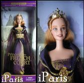 【居家優品】老款 Barbie芭比 世界公主 Princess of the French 法國公主
