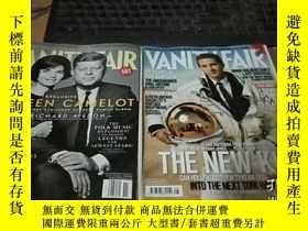 二手書博民逛書店VANITY罕見FAIR 2007年8.11,2008年2.3.