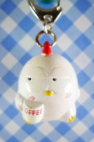 【震撼精品百貨】日本精品百貨-手機吊飾/鎖圈-可愛動物系列-鑰匙圈-雞