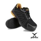 【PAMAX帕瑪斯】PS66602PPH-防穿刺、運動型、透氣網布、高抓地力止滑安全鞋-反光條設計-男生尺寸6-12
