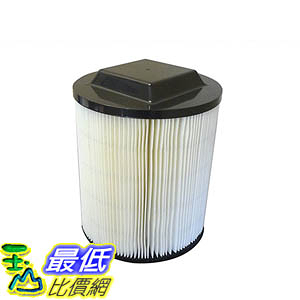 [106美國直購] Crucial Vacuum Washable Wet/Dry Filter, Fits Rigid VF4000 Compare to Part No.72947
