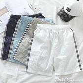 短褲男夏季休閒中褲子男士五分褲寬鬆5分大褲衩潮流沙灘褲五分褲 西城故事