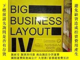 二手書博民逛書店Big罕見Business Layout IV: The Best Globe Brand Design 大企業布