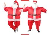 充氣衣服聖誕節聖誕老人演出服裝150公分以上【全館免運】