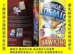 二手書博民逛書店George s罕見Cosmic Treasure Hunt【實物拍照 】Y4224 Lucy、Stephen