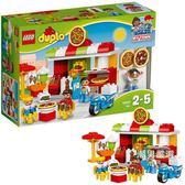樂高積木樂高得寶系列10834比薩店LEGODUPLO積木玩具 聖誕交換禮物xw