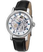 epos 極致完美全鏤空機械皮帶腕錶-白 4390.155.20.20.15FB