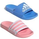 Adidas ADILETTE SHOWER 男鞋 女鞋 拖鞋 防水 藍 / 粉 【運動世界】F34769 / EG1886