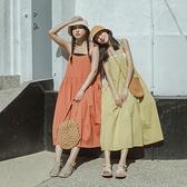 Queen Shop【01085514】清新棉質細肩帶洋裝 四色售*現+預*