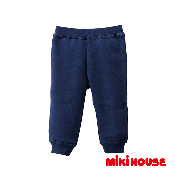 MIKI HOUSE Every day休閒保暖長褲(藍)