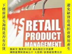 二手書博民逛書店Retail罕見Product Management: Buyi