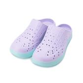GOODYEAR 前包後空洞洞鞋 紫 GAWP12737 女鞋