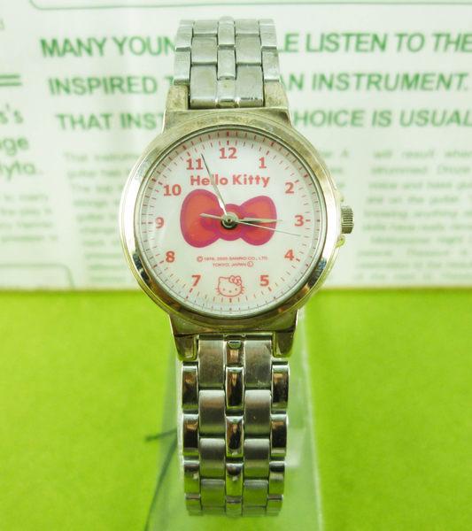 【震撼精品百貨】Hello Kitty 凱蒂貓~手錶-紅蝴蝶結【共1款】