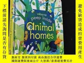 二手書博民逛書店英文原版繪本罕見Peep inside Animal homesY254456 Anna Milbourne