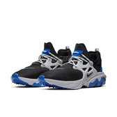 Nike 休閒鞋 React Presto 黑 藍 男鞋 魚骨鞋 運動鞋 【PUMP306】 AV2605-005